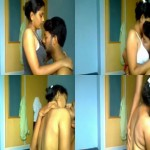 Image Virgin College GF Get Fucked By her Lover in Pussy Scandal