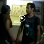 Image Indian college students caught by voyeur after study session