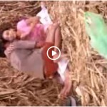 Image Village girl outdoor fucked by lover in sugarcane field