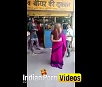 Image Indianpornvideos Exclusive : Desi street girls doing naughty act front of beer shop