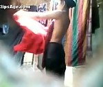 Image Indian girl taking bath captured secretly hot MMS video
