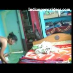 Image Indian village bhabhi removed her dress front of devar