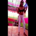 Image Desi Girl in Bra Doing Hot Dance in Public Hot Mms