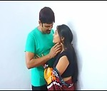 Image Indian home made masala movie clip of mature bhabhi with lover