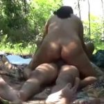 Image Aunty Nude in Jungle Fucked by Lover Mms