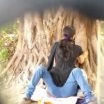 Image College Lovers in Park Doing Quick Sex Mms