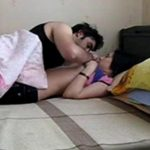 Image Indian Mom with her Son at Home Mms